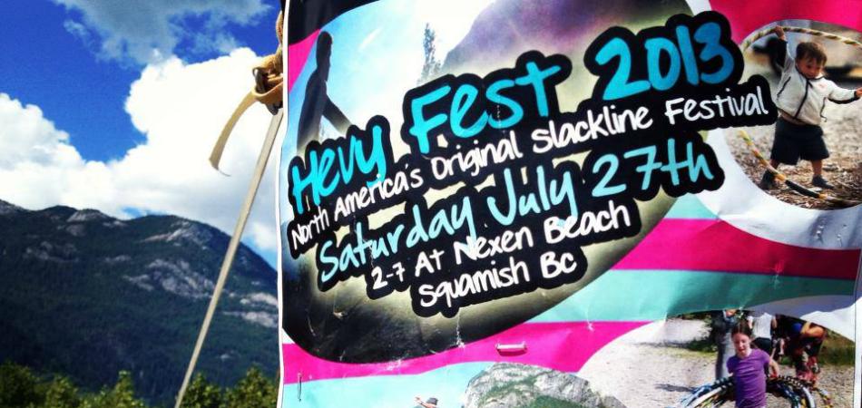Hevy Fest - North America's Original Slackline festival
