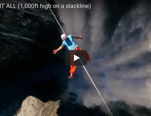 The Slacklife Series Ep. 4 – Risking It All (1,000ft high on a slackline)