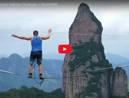 The 5th Shenxianju Highline Challenge