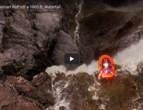 The Slacklife Series Ep. 5: Riding a Walmart Raft off a 1000 ft. Waterfall