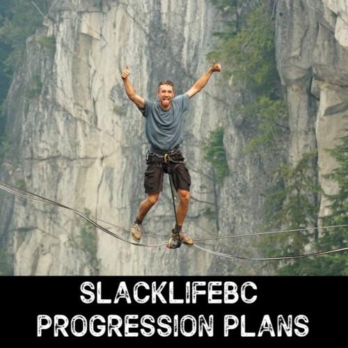 Slackline Progression Plans